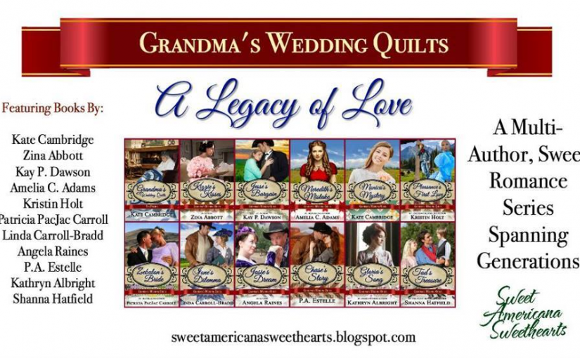 Launch Party for Grandma's Wedding Quilts Series